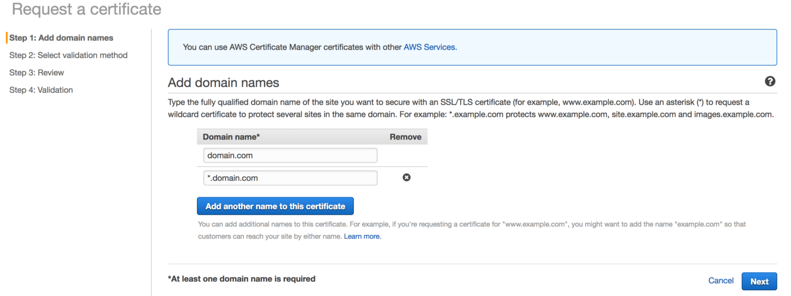 Cheap wildcard ssl certificate with aws route 53 and certificate cheap wildcard ssl certificate with aws route 53 and certificate manager xflitez Image collections