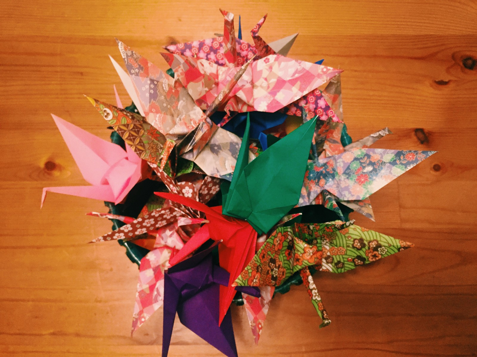 28 cranes later origami and the art of mindfulness so the minutes it took me to fold a crane became an exercise in mindfulness creating tangible proof of the passage of time these twenty eight paper cranes jeuxipadfo Choice Image