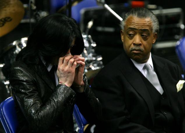 Michael Jackson images James Brown's Funeral Back In 2006 ...