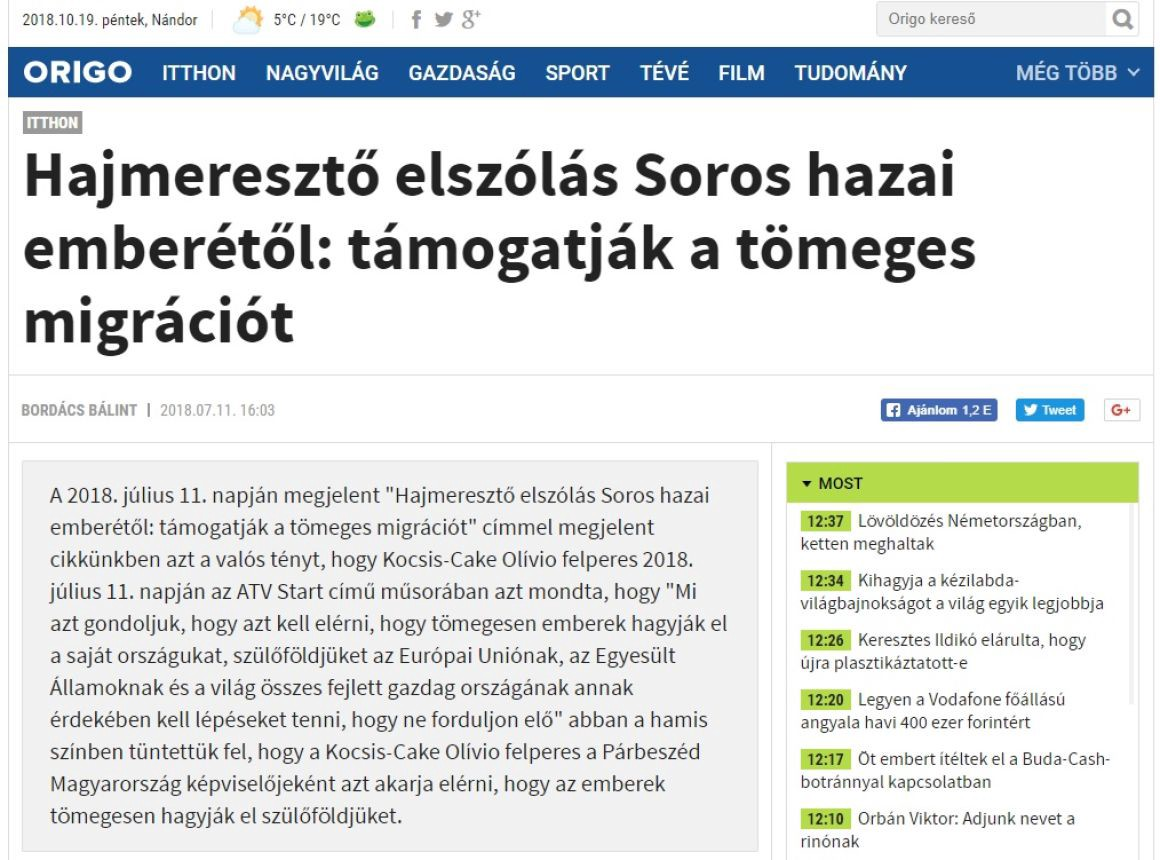 174e7c7d6a Translation: Staggering slip of the tongue from Soros's local man: they  support mass migration