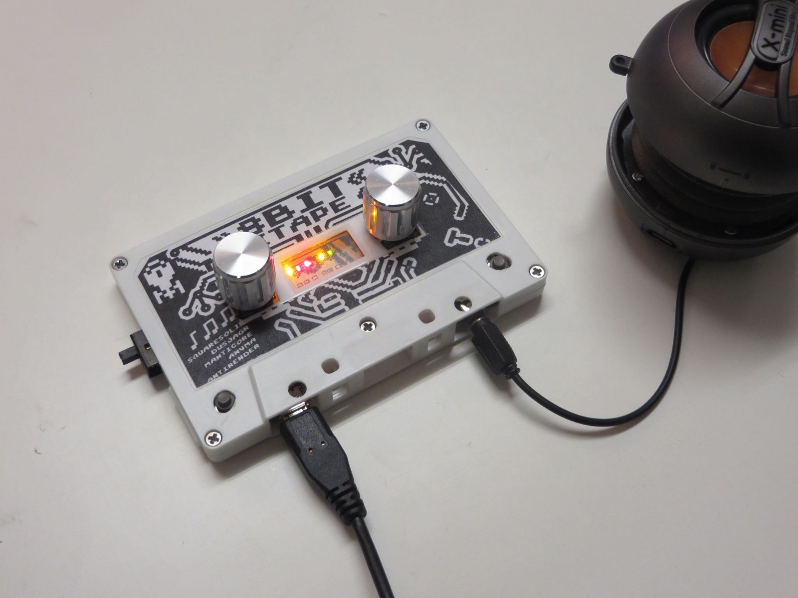 The 8bit Mix Tape Hackster Blog Circuit Board You Can See Evolution Of This Attiny84 And 85 Powered Project On Its Wiki Page From Humble Beginnings As A 01 Version With
