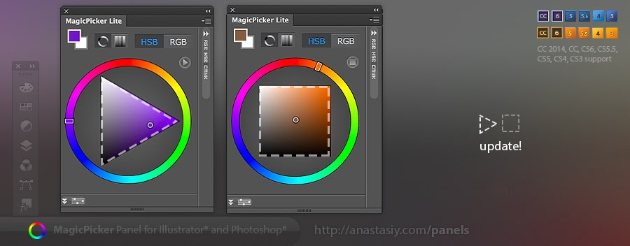 Photoshop And Illustrator S Ultimate Color Wheel And Color Picker
