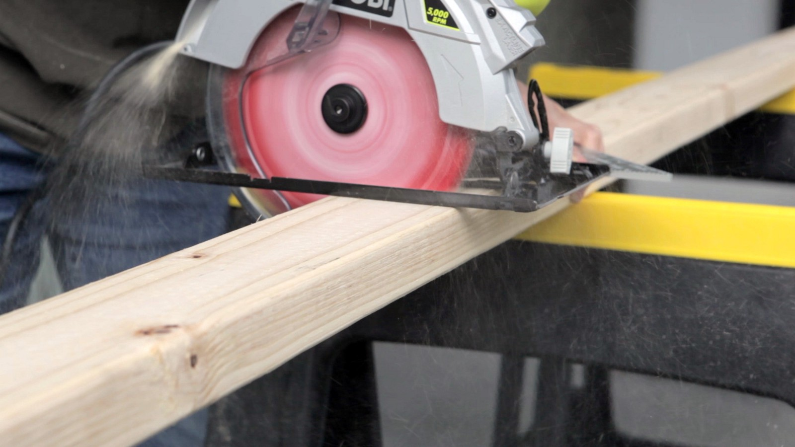 Sawing 2x4 Studs To Size