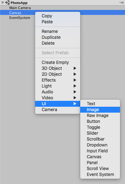 unity3d how to detect a ui button in hierarchy