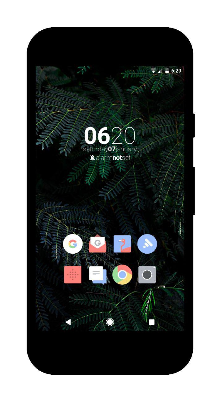 how to make home screen icons bigger on nova launcher