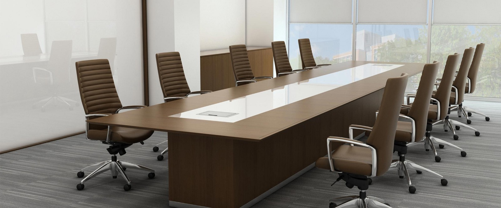 How To Choose The Conference Table Guide To Size Shapes - 12 seater conference table