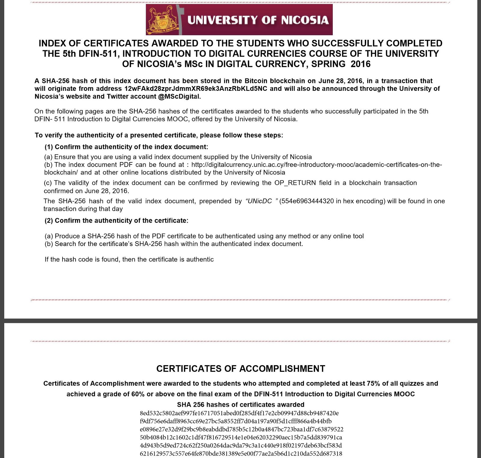 How Can Anyone Check The Authenticity Of My University Certificate