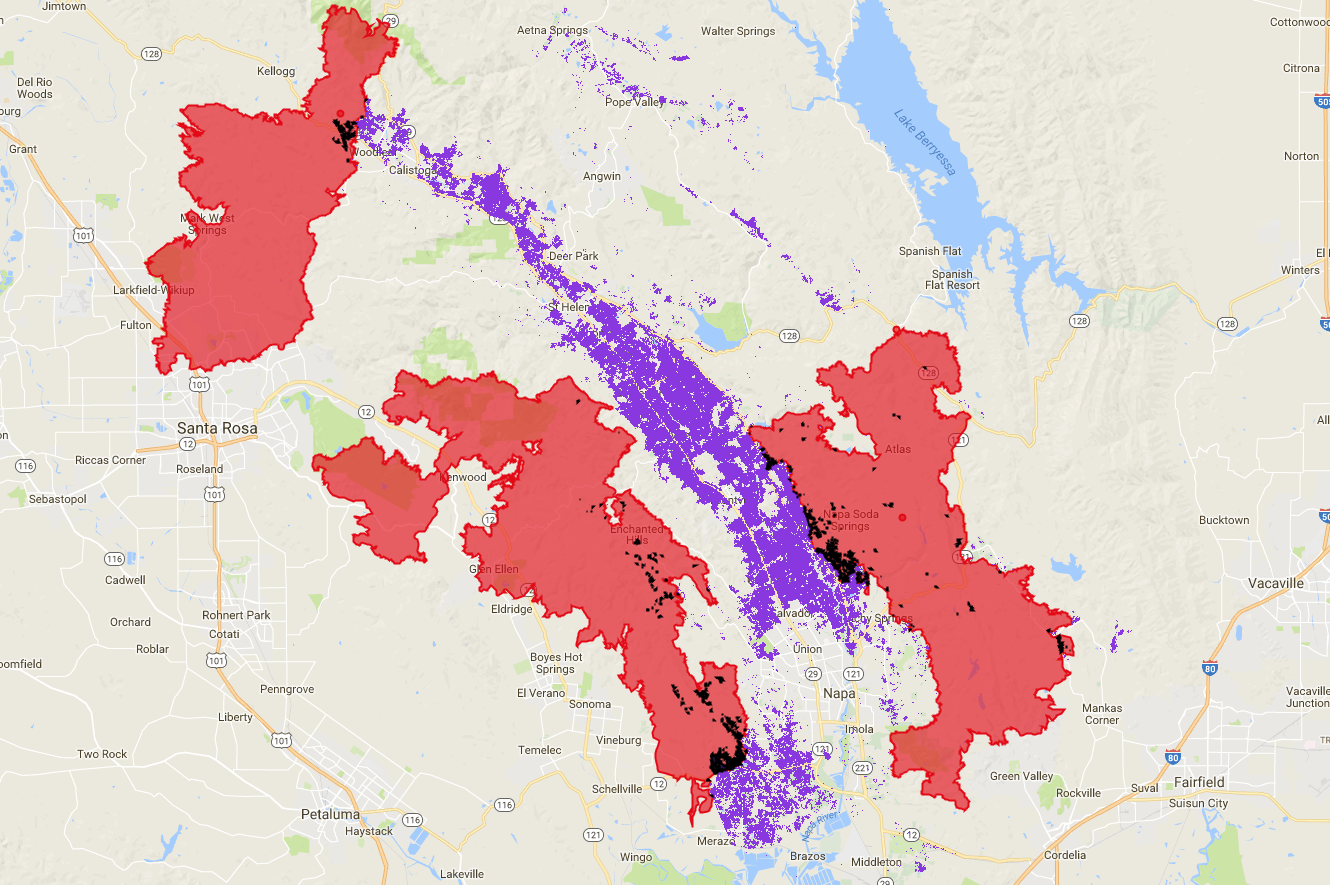 Using Data To Assess Damage Of Wine Country Fires Vinsight Medium