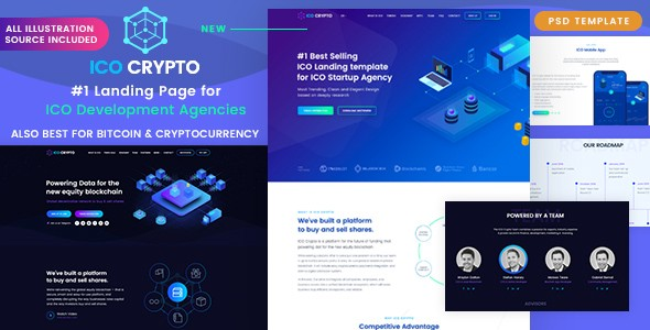 Top 9 Best Crypto Currency PSD Templates in 2018 – Top hive – Medium