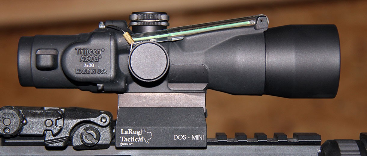 trijicon acog ta33 3x30 scope review tactical gear rocks