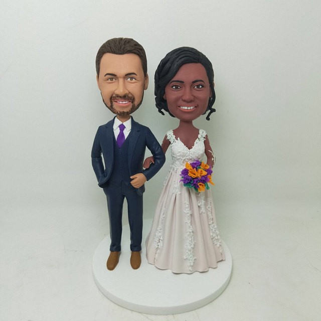 Personalized Wedding Cake Toppers to Make an Impression Custom Cake