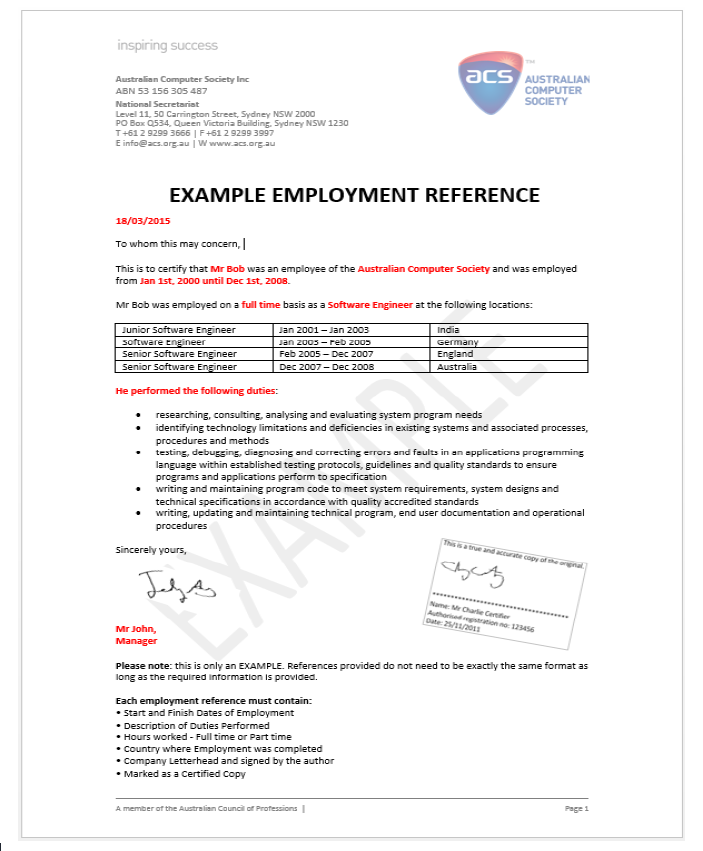 Data science is not in the sol list will i still be eligible for pr finally heres a sample employment reference letter again there are many other things you should note and conditions that might apply to you personally yelopaper Gallery