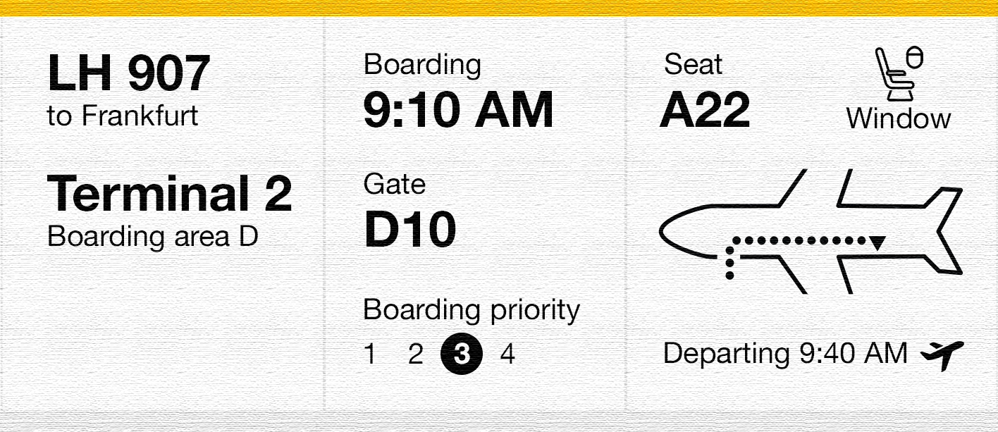While I Was Redesigning A Boarding Pass Paper Got Old