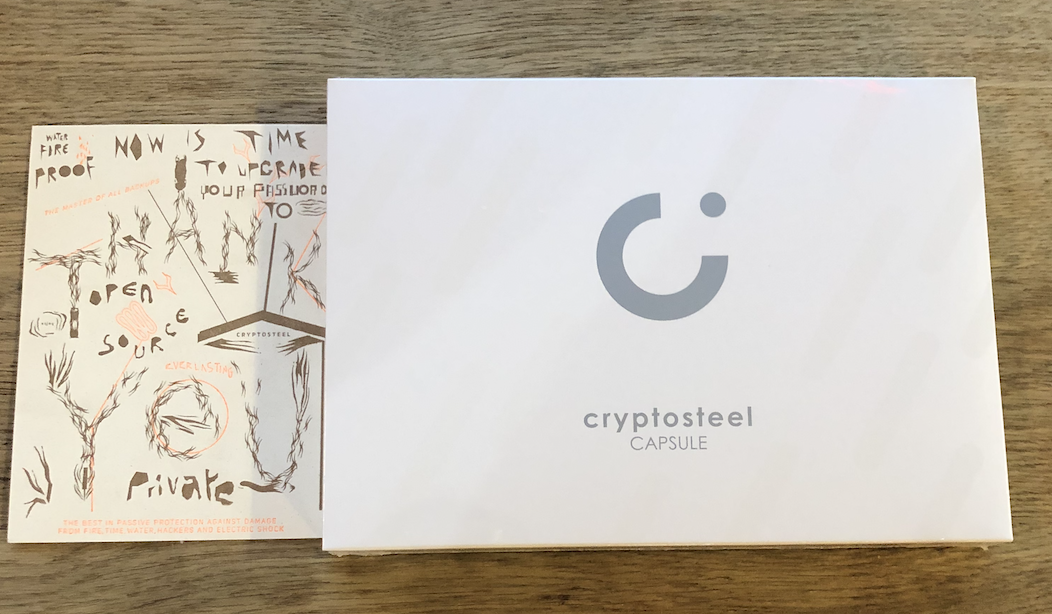 The Block Review: Cryptosteel Capsule