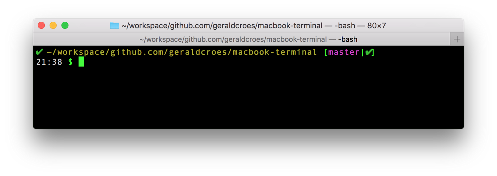 Mac git autocomplete not working