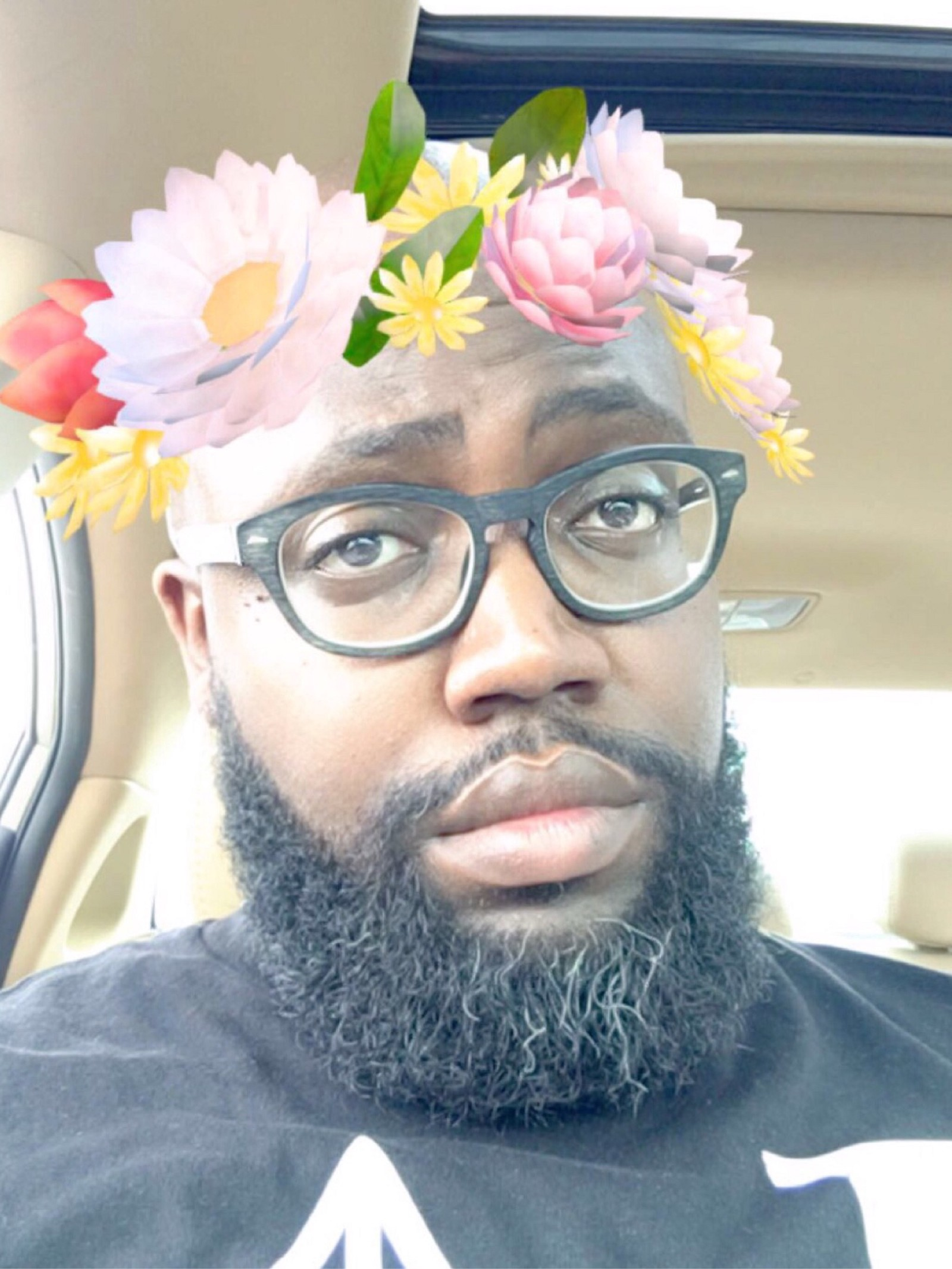 Blackmenlove reggie noble medium it started out as me poking fun at the all too popular flower crown filter and its use on snapchat it turned into something more izmirmasajfo