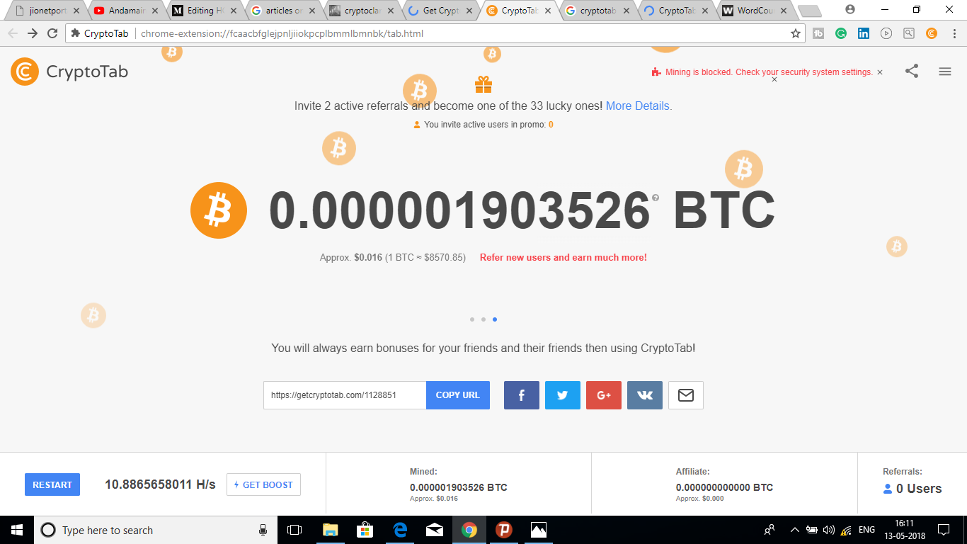 how much can earn from bitcoin mining