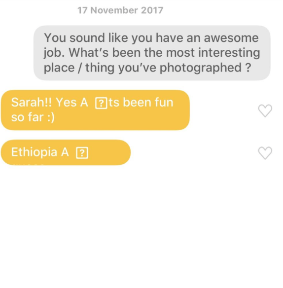 Dating apps one way conversation