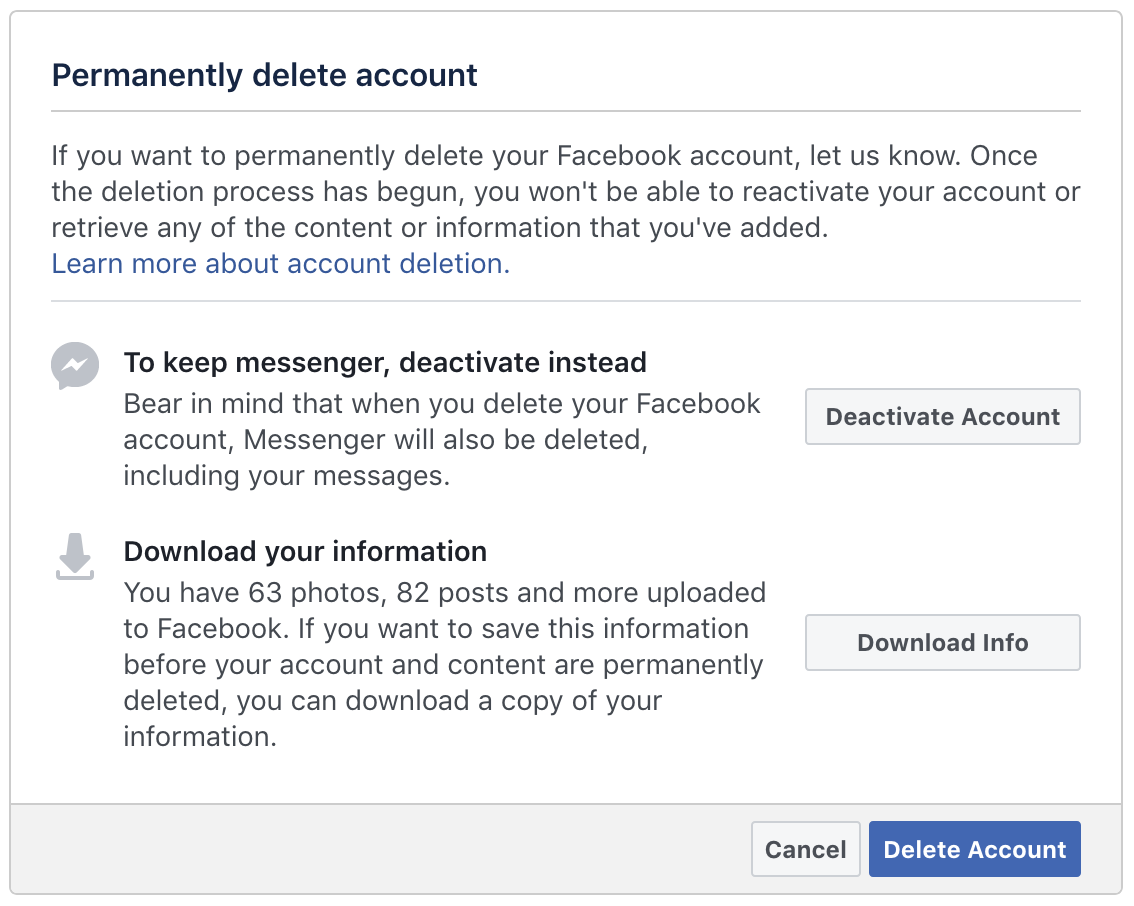 How to delete uploaded photos in facebook speaking