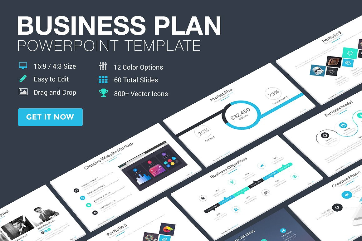 10 best business plan templates for startup funding pitch deck