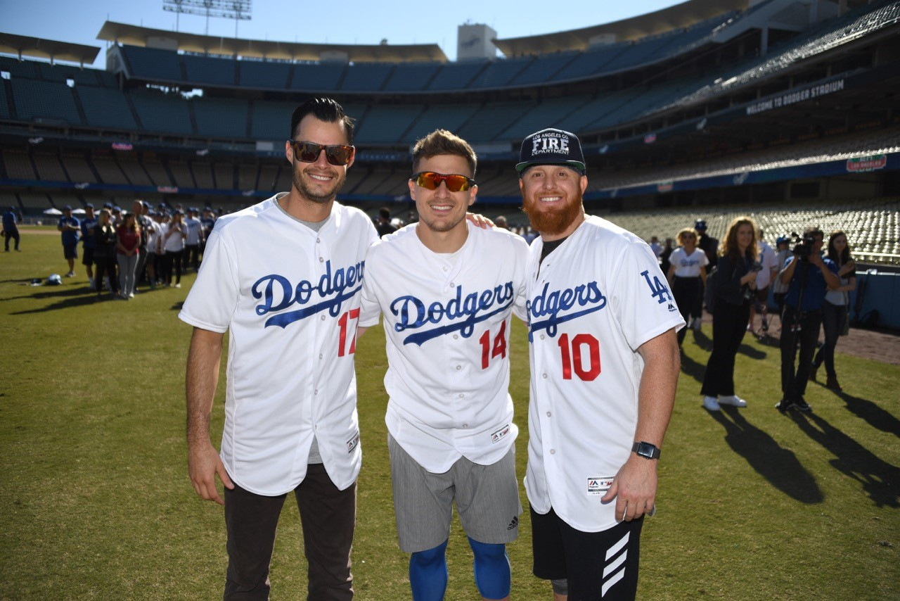 Joe Kelly puts on his Dodger jersey for the first time — and for a good  cause 0f272e438cb