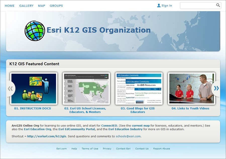 Esri Makes Mapping Technology Available to US Students through