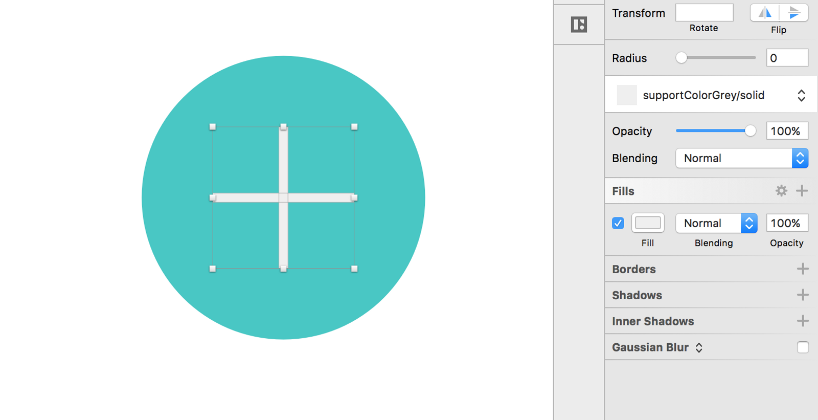 Using shared styles and symbols in sketch design sketch medium ive simply created two 2pt x 30pt rectangles and positioned them into the shape of a biocorpaavc