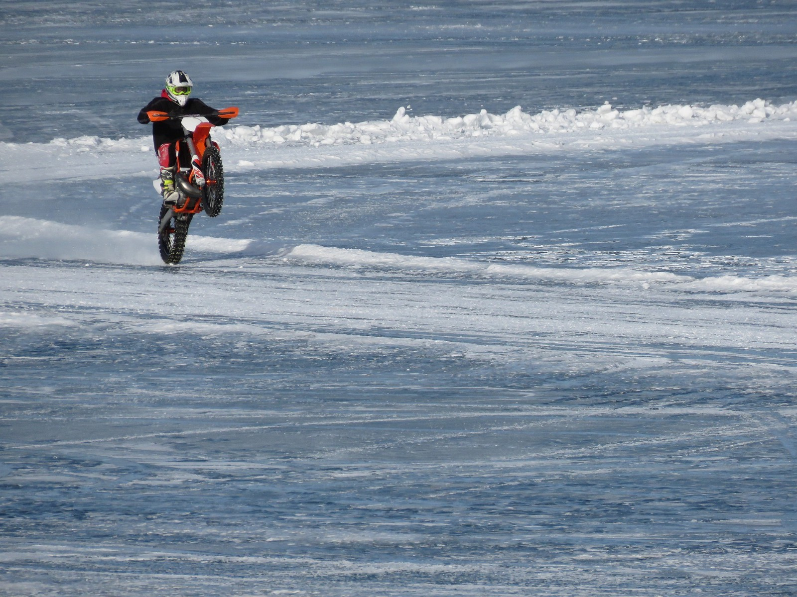 Motorcycle Ice Racing Put That Stoic Stud On Ice And Slew Away
