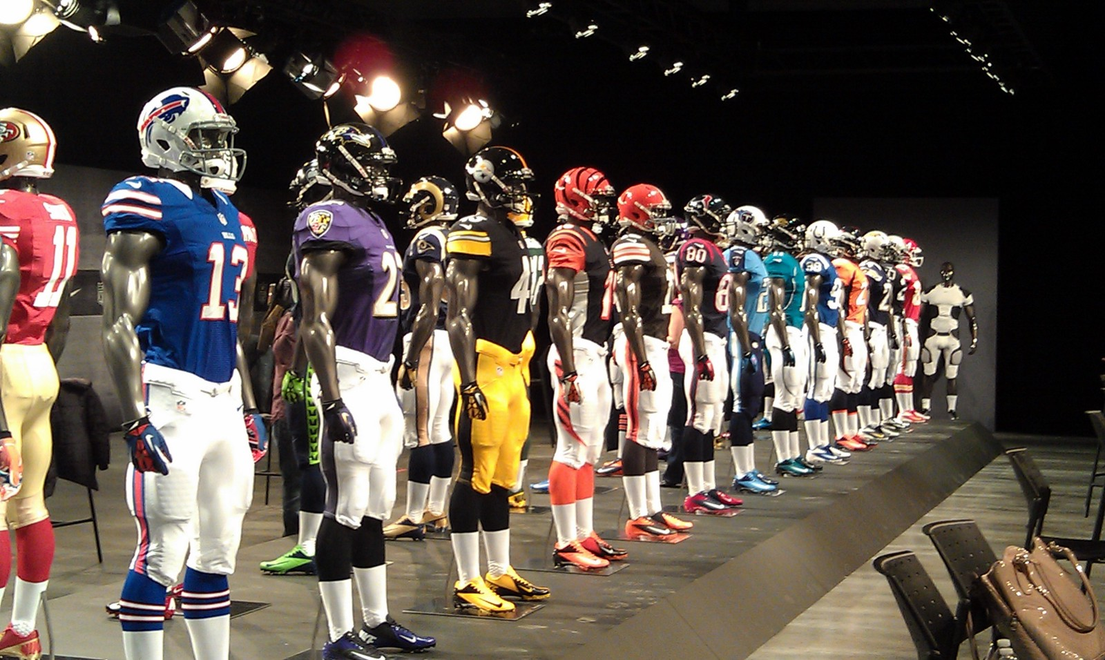 bf45393c6 Ranking All 32 NFL Uniforms – The Phanzone – Medium