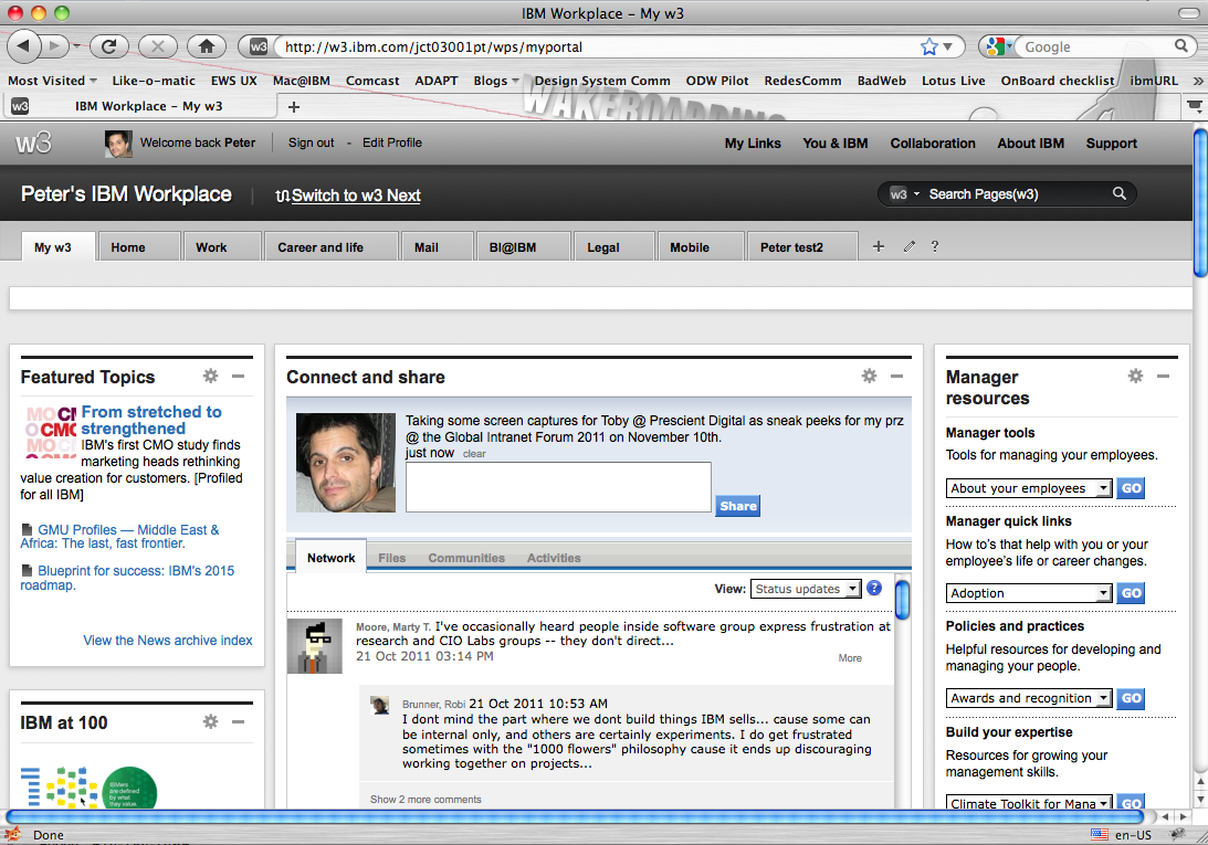 3 reasons why employees hate their intranet henry amm medium ibm intranet 2011 malvernweather Image collections