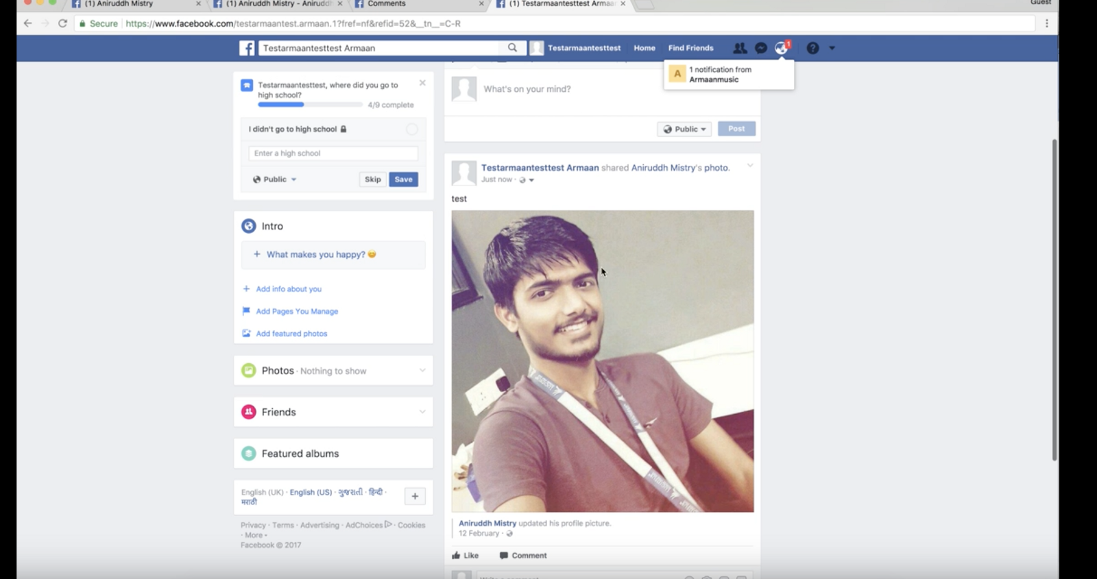 bypassing facebook profile picture guard security