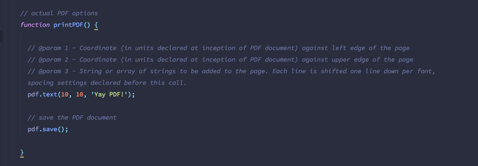 generate pdf invoices with javascript codeburst
