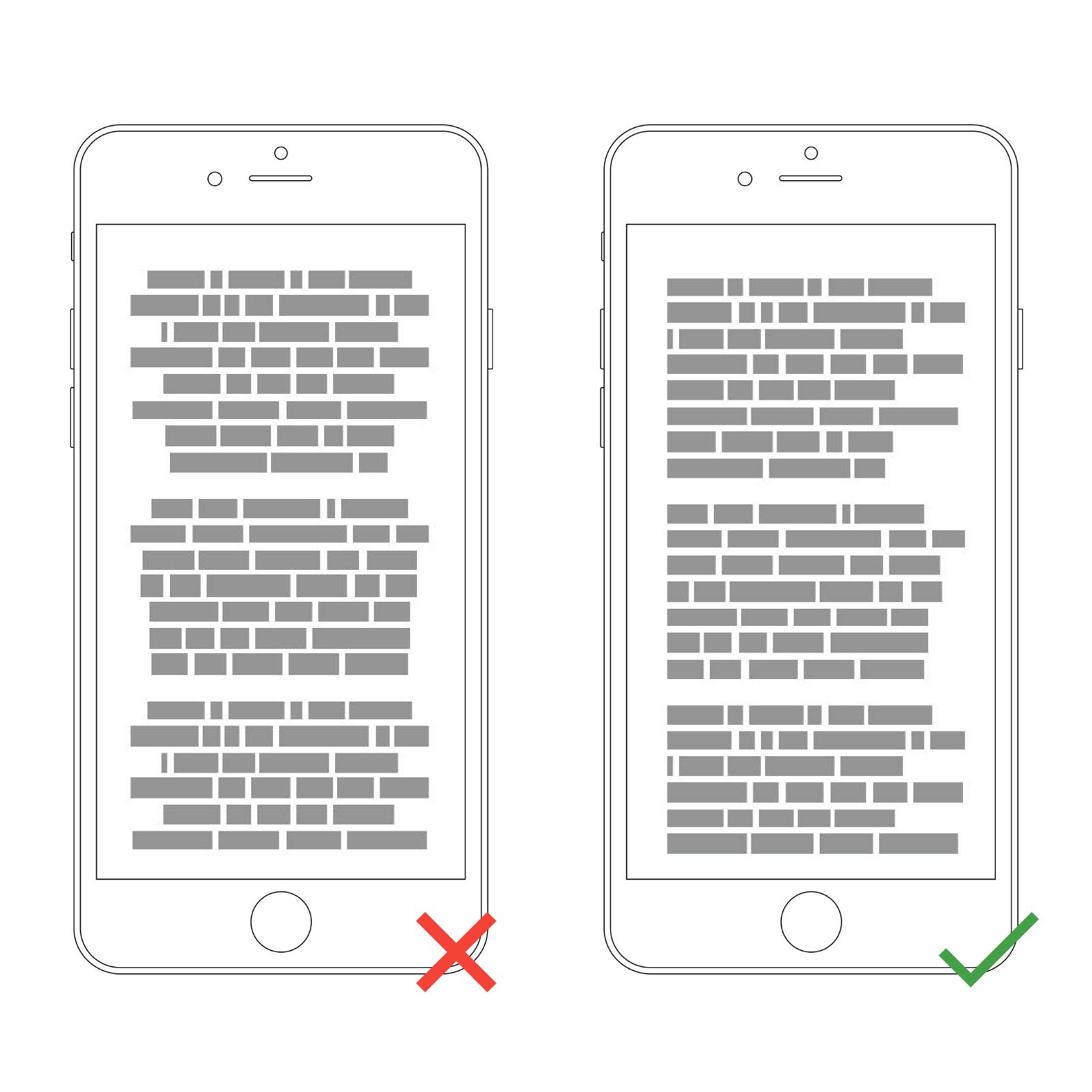 Getting Typography Right In Digital Design Springboard The Diagram Below Is Just A Rough Guide To Layout Of Typical Western World Type Read Top Bottom And Left By Justifying You Make Text Easier Eye Able Find