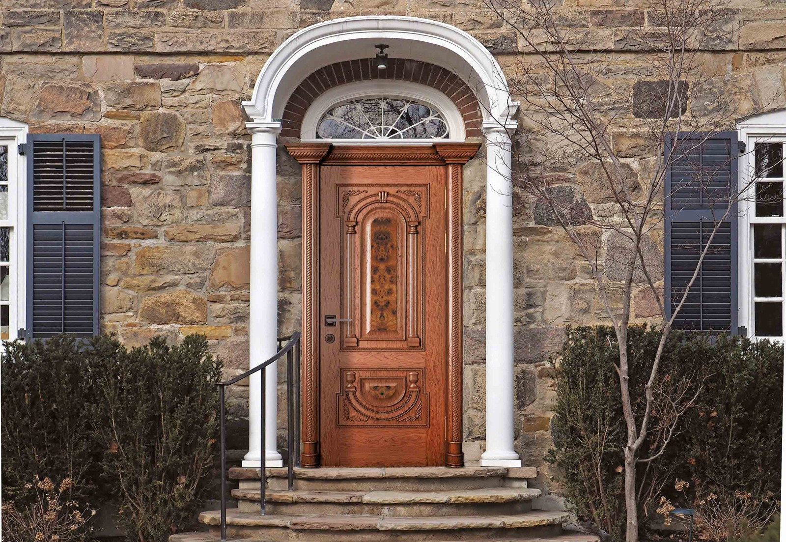 Choice of entrance doors 84