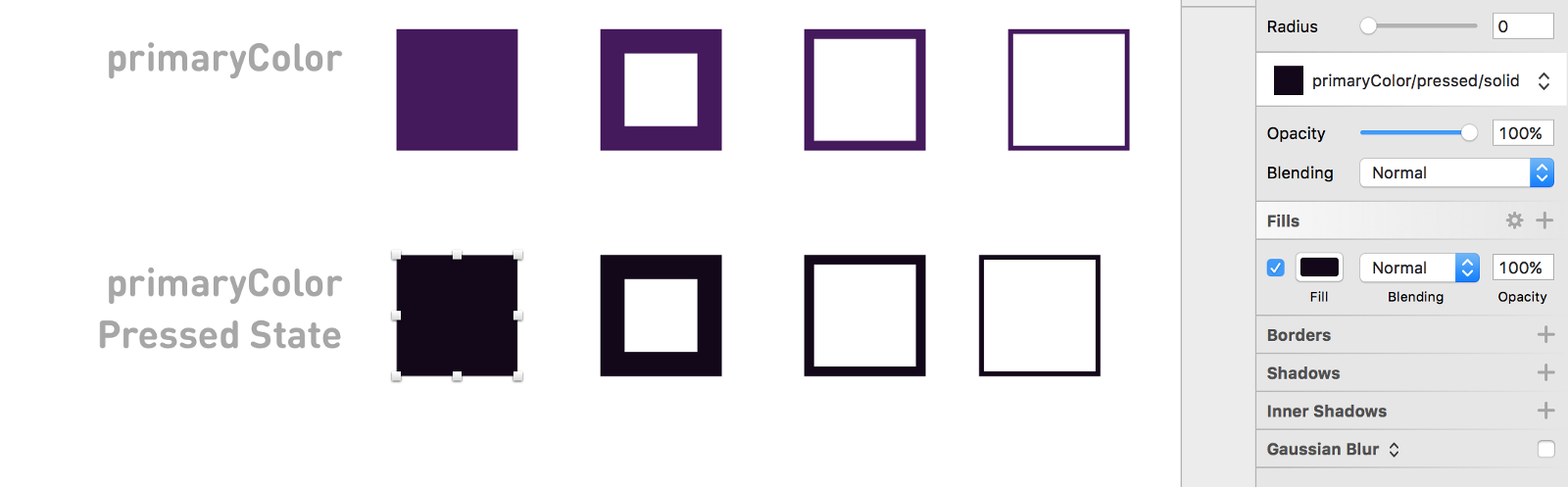 Using shared styles and symbols in sketch design sketch medium next were going to create a copy of our first fab on the assets page to do so we just need to optiondrag the artboard the normal state fab sits on to buycottarizona