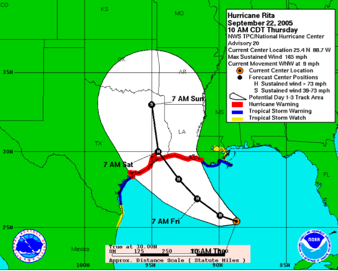 hurrican rita essay Essay on hurricane katrina and hurricane rita to prepare for this assignment, you will need to review information regarding the differences between hurricane.