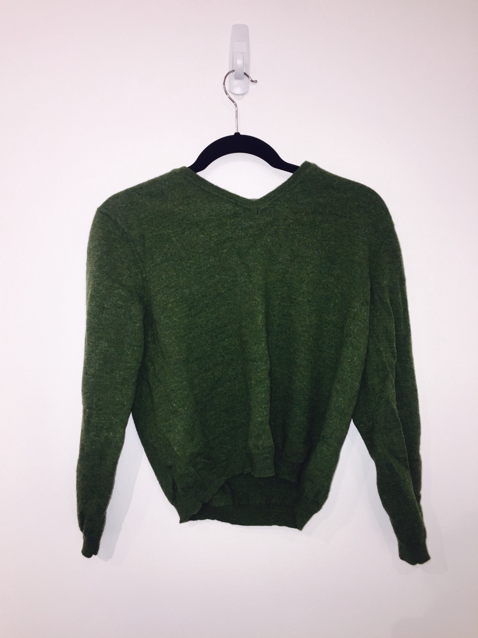 Men's Green Merino Wool Sweater – Brokenships LA – Medium