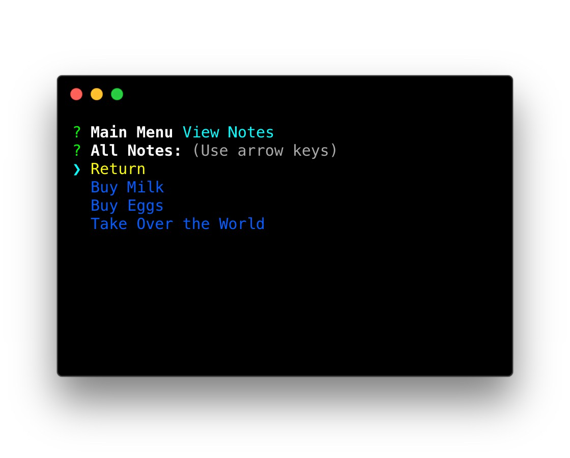 How to Build a Command Line Note Taking App