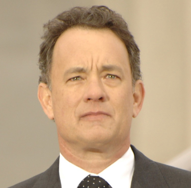 Consider, that tom hanks is an asshole you tell
