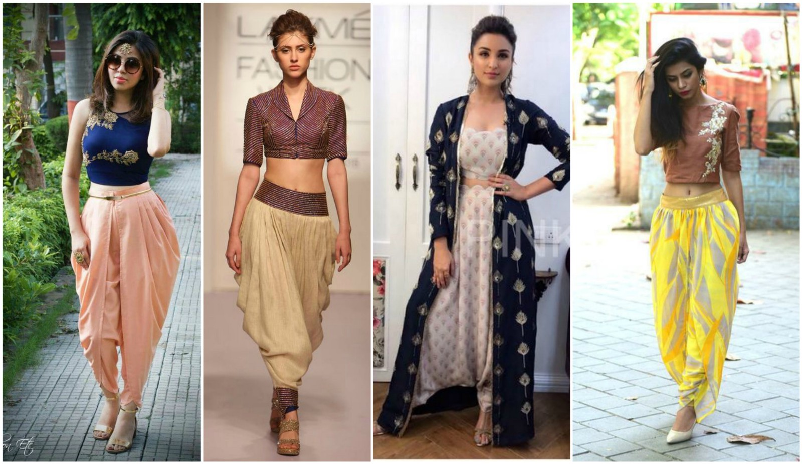Peplum Top With Saree Had Rocked Last Year And We All Have That One Dark Colored Resting In The Wardrobe Style Your Plain Simple