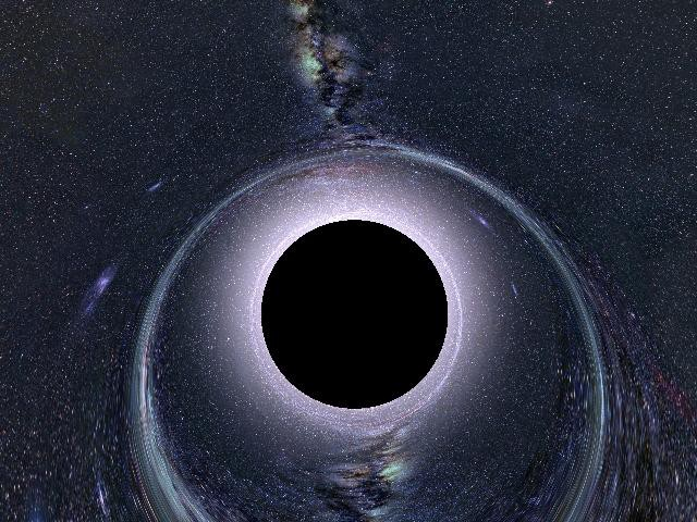 something going into a black hole - photo #25