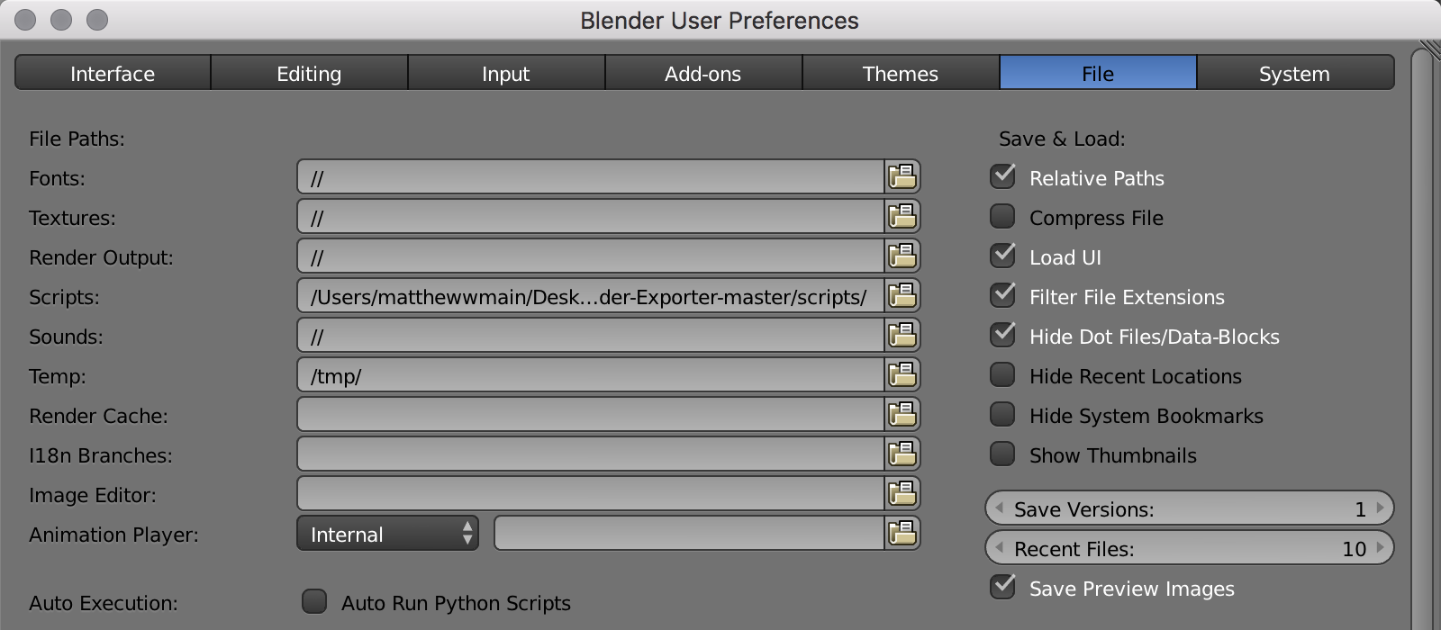 How to Import a 3D Blender Object into a Three js Project as