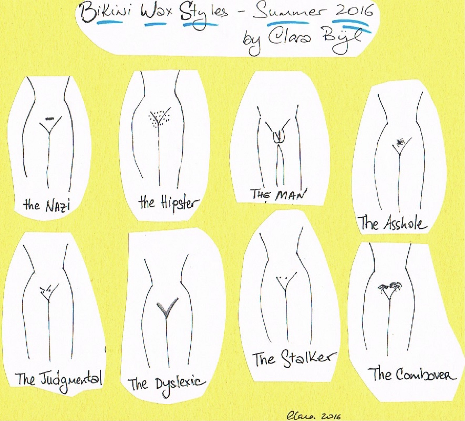 Will Bikini waxing styles photos think, that