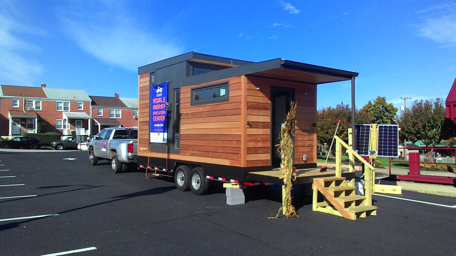 A tiny house constructed by Baltimoreu0027s Civic Works & Baltimore Tent City and the Victory in Progress u2013 Lawrence Brown ...