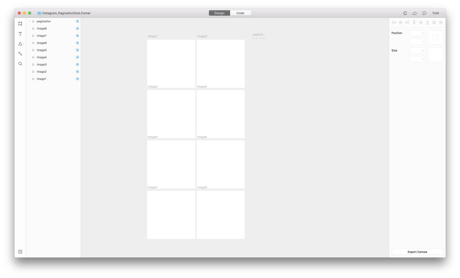 Using Conditions in Framer to Replicate Instagram\'s Pagination Dots