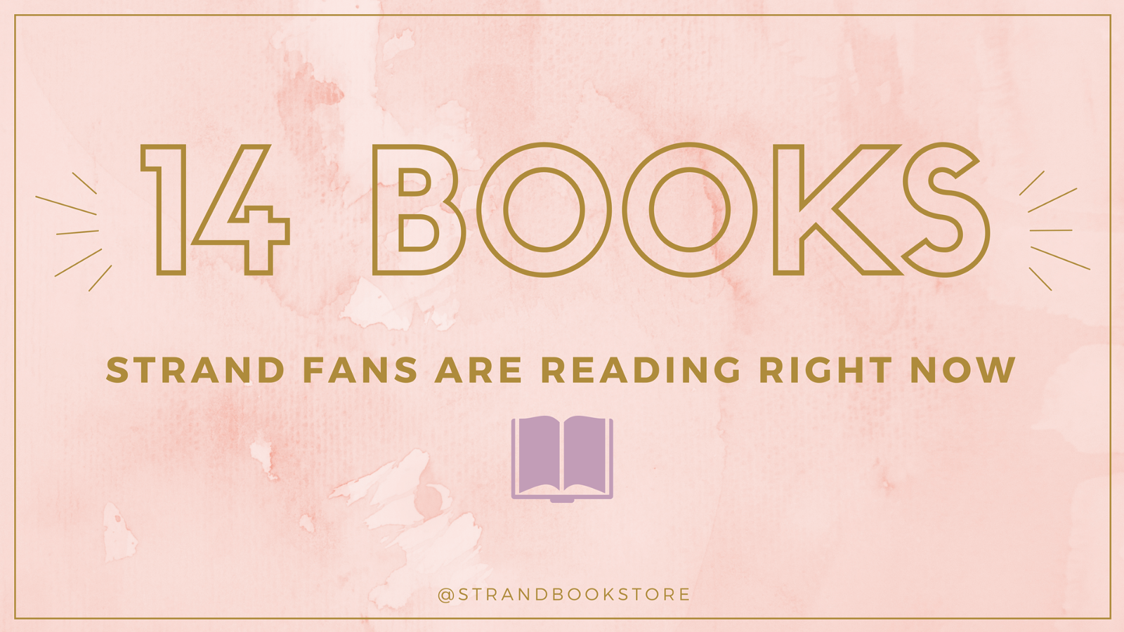 14 Books Strand Fans Are Reading Right Now Strand Book Store Medium