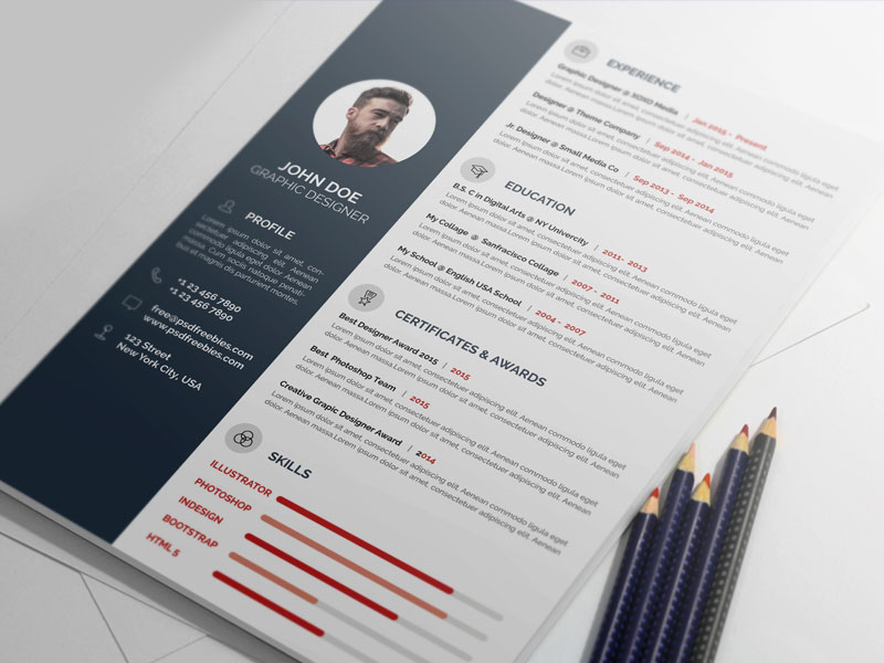 This Minimal And Professional Resume CV Template Will Help You To Create  Your CV/Resume More Corporate And Professional. You Can Make Positive  Impression ...  How To Make A Creative Resume