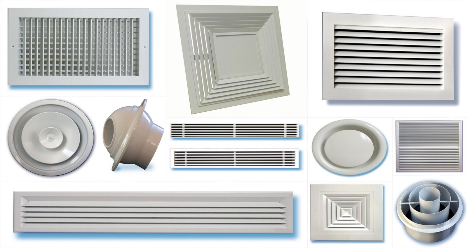 Construction And Types Of Grille And Diffusers Clare