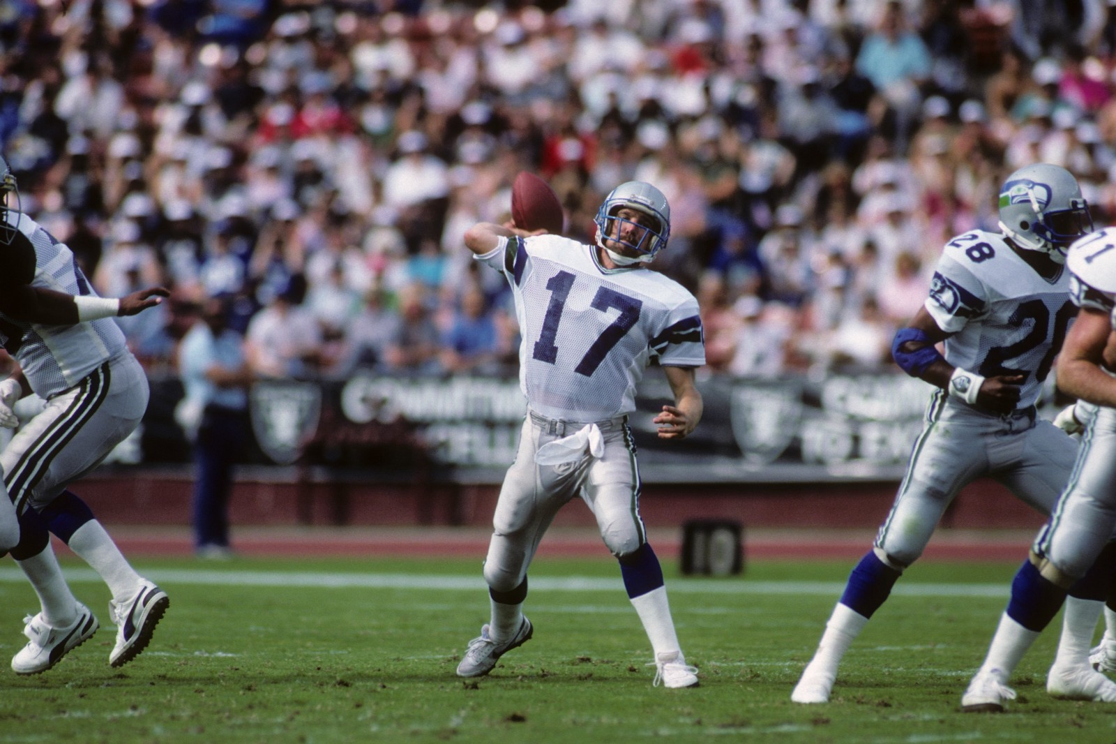 From Humble Beginnings Dave Krieg Became One Of The Most Prolific Passers In NFL History And Nearly 20 Years After His Retirement He Still Sits