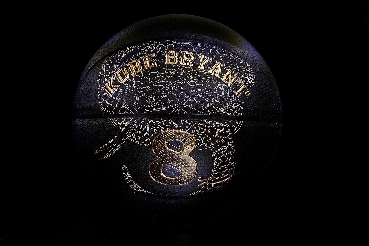 """... an exclusive basketball to celebrate the legendary career of Kobe Bryant.  He is a gift to the game we have loved as a brand for more than a century."""" 2e06aeac4df"""